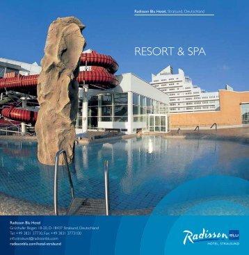 RESORT & SPA - Radisson Blu