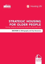 Housing LIN Publications - Institute of Public Care - Oxford Brookes ...