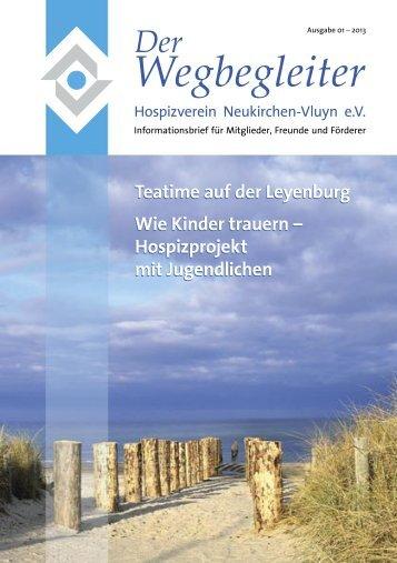 Ausgabe 01-2013, Informationsbrief für Mitglieder, Freunde und ...