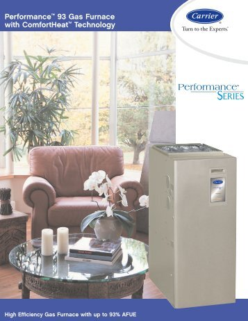 Performance™ 93 furnace - Aire Pro Inc.