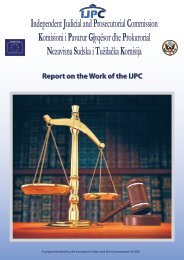 Report on the Work of the IJPC