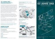 60 JAHRE DNA - Museum für Naturkunde