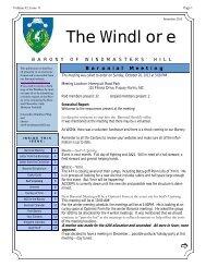 November 2013 Volume 42 Issue 11 - The Barony of Windmasters' Hill