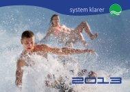 system klarer - Klarer Freizeitanlagen AG