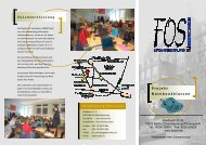 FOS Flyer Notebookklassen - Friedensburg Oberschule Berlin