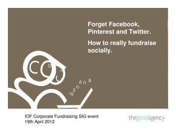 Social Media for Corporate Fundraisers - Institute of Fundraising