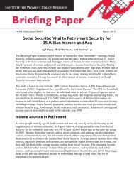 Social Security: Vital to Retirement Security for 35 Million Women ...