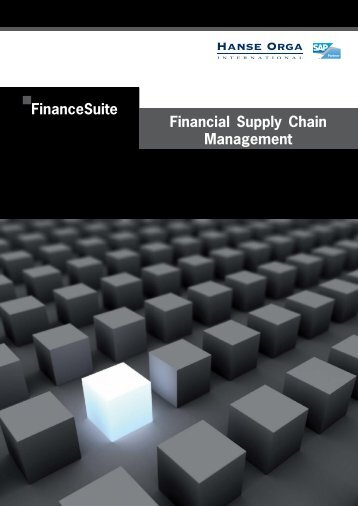 FinanceSuite for SAP - Hanse Orga AG