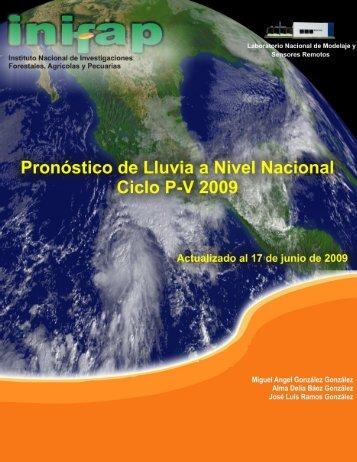 PROBABLES CONDICIONES DE HUMEDAD Agosto 2009 ...