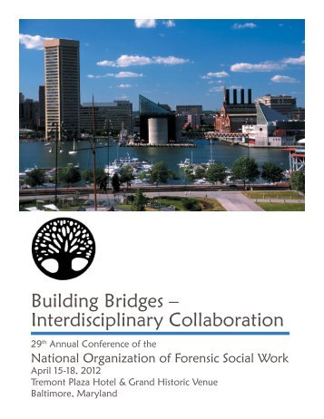 Building Bridges – Interdisciplinary Collaboration - National ...