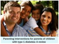 Parenting interventions for chronic childhood conditions - Helping ...