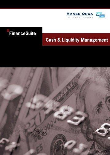 Cash & Liquidity Management - Hanse Orga AG
