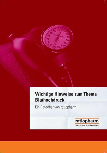 Wichtige Hinweise zum Thema Bluthochdruck. - (SMS-Plauen)eV