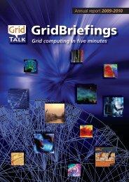 Annual report 2009 - e-ScienceTalk