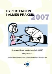 HYPERTENSION I ALMEN PRAKSIS - APO Danmark