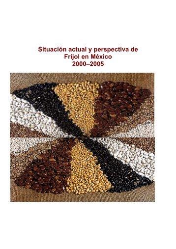 Situación actual y perspectiva de Frijol en México 2000–2005