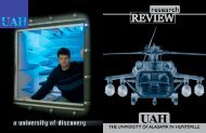 2005 Research Review - University of Alabama in Huntsville