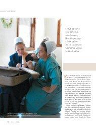 Amish-Alternative in Klein-Arabien - Ethos