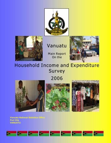 Vanuatu Household Income and Expenditure Survey 2006