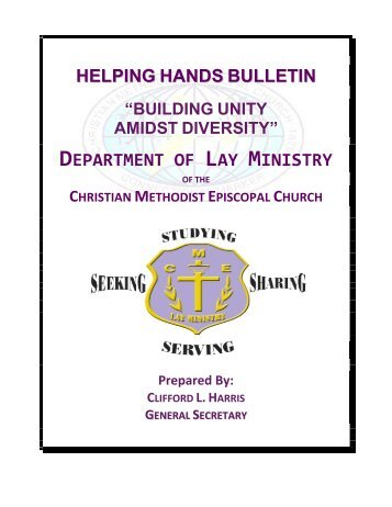 Building Unity Amidst Diversity - Christian Methodist Episcopal Church