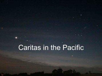 Caritas in the Pacific