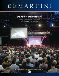 Dr John Demartini's Profile