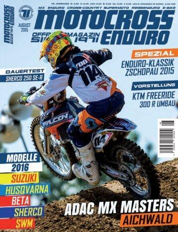 Motocross Enduro - 08/2015