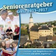 Seniorenratgeber Greiz (2015-2017)