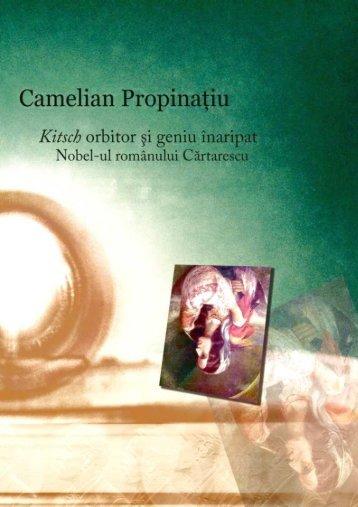 Propinatiu - Kitsch orbitor si geniu inaripat. Nobel-ul românului Cartarescu