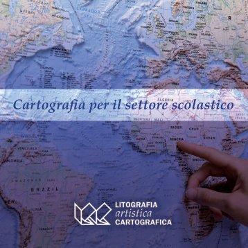 Cartografia per il settore scolastico