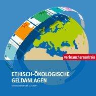 Ethisch-ökologische Geldanlagen