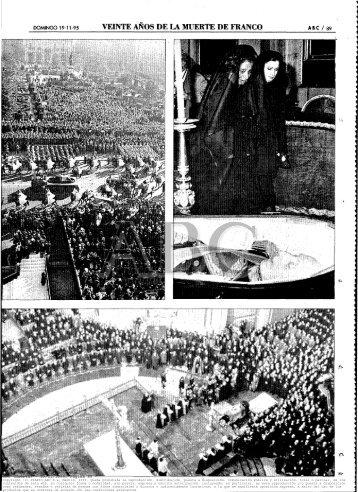 20 años de la muerte de Franco