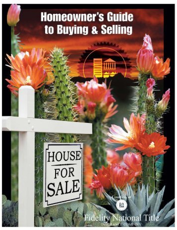 Homeowner's Guide to Buying & Selling