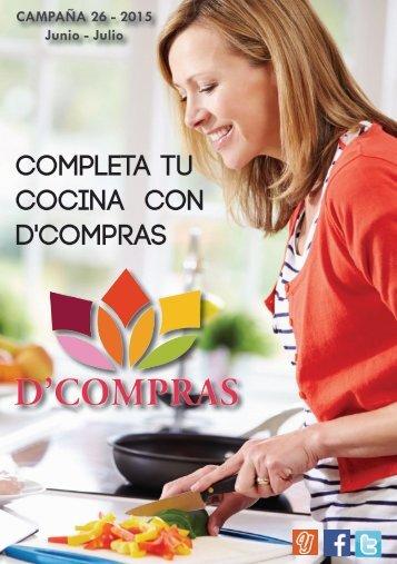 Catálogo D'Compras Junio - Julio 2015