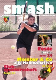 Feste Meister & Co - 1. Klosterneuburger Tennisverein