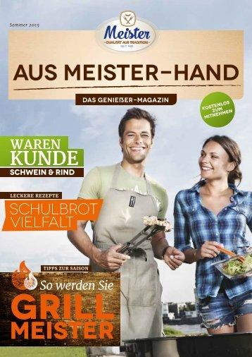 AUS MEISTER-HAND | DAS GENIEßER-MAGAZIN