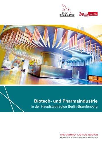 Biotech- und Pharmaindustrie