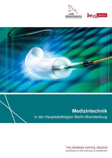 Medizintechnik in der Hauptstadtregion Berlin-Brandenburg