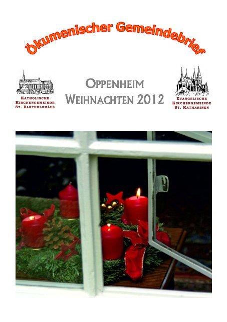 Gemeindefest 2012 - Evangelische Kirchengemeinde Oppenheim ...