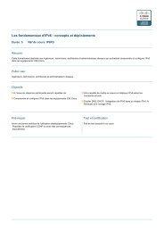 Les fondamentaux d'IPv6 : concepts et déploiements - Techni-Contact
