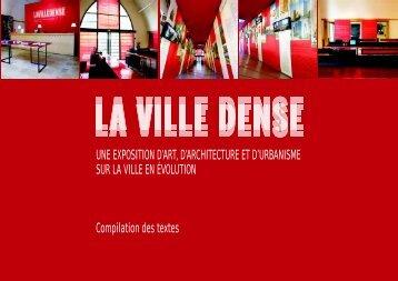 Textes de l'exposition - (CAUE75) Paris