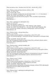 Plánované školiace akcie v školskom roku 2013/2014 - Katedra ...