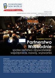 NEWSLETTER - Nr 77 - 2013 / wersja PDF - Europejski Dom ...