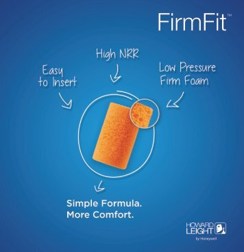FirmFit™ - Howard Leight