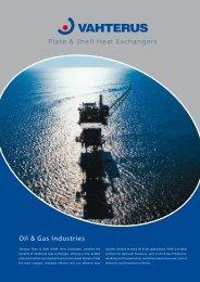 Oil & Gas Industries - Vahterus