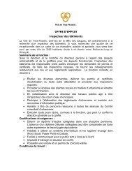 Offre d'emploi agent de développement de projets ... - COMBEQ