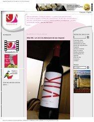 Magazine spécialisé sur le monde du vin en Suisse Romande