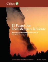 El Fuego, los Ecosistemas y la Gente - Mecanismo de Información ...