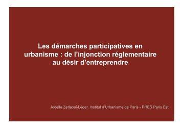 La participation - (CAUE75) Paris