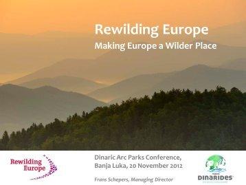 Rewilding Europe - Dinaric Arc parks